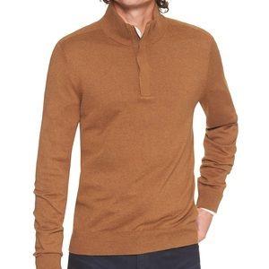 BANANA REPUBLIC Premium Yarn 1/4 Zip Pullover SALE